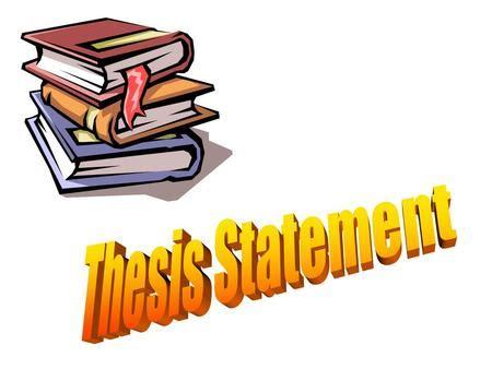 Define thesis statement in essay writing